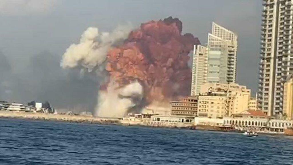 бейрут взрыв