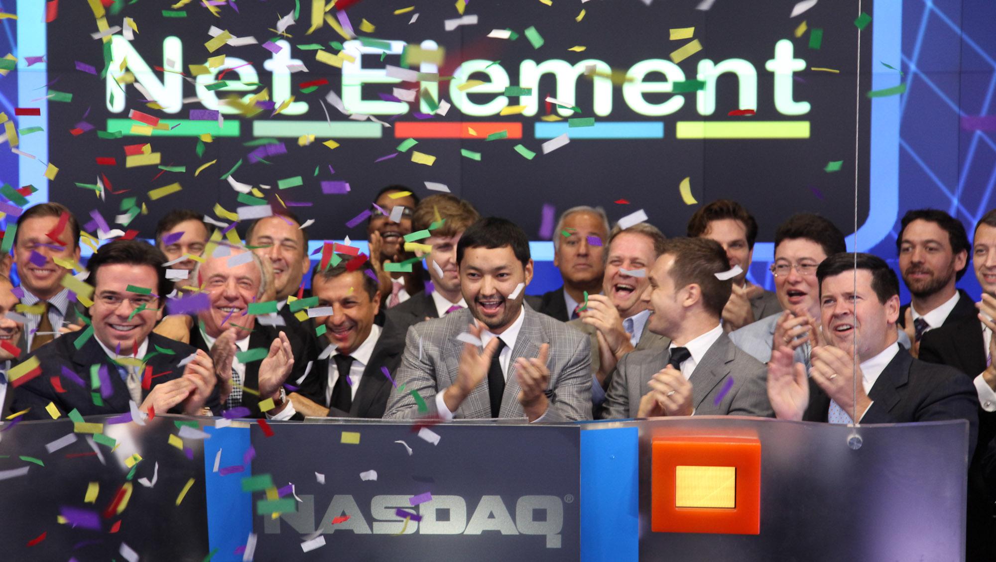 Запуск торговли акциями Net Element Кенеса Ракишева на Nasdaq