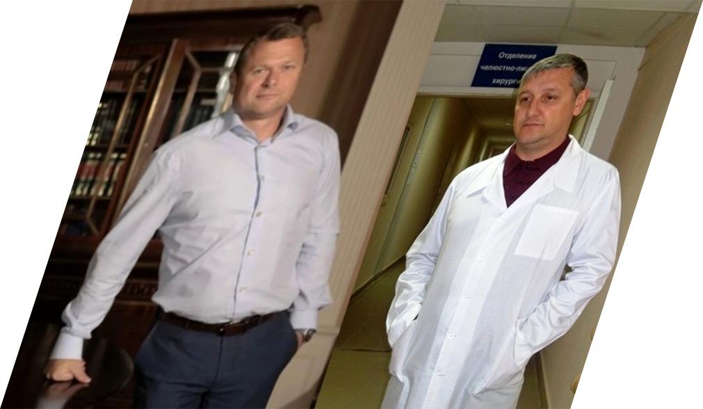 Олег Вольман и Сергей Лищина